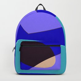 Minimal With Blue Backpack