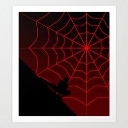 Spider Twilight Series - Miles Morales Spider-Man Art Print