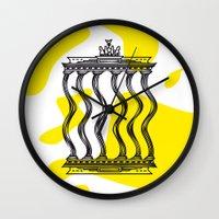berlin Wall Clocks featuring Berlin by Jan Luzar