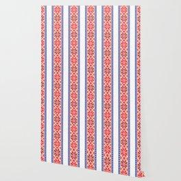 Cross stitch pattern 01 Wallpaper