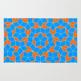 Penrose Tiling Pattern Rug