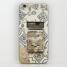 Mailbox and Mural iPhone & iPod Skin
