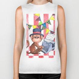 Not My Circus, Not My Monkeys Biker Tank