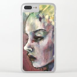 Death of a Clown Clear iPhone Case