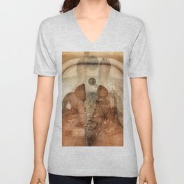 What We Saw in The Water Unisex V-Neck