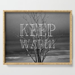 Keep Warm Serving Tray