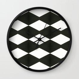 Holes pattern Wall Clock