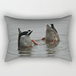 Duck Bums Rectangular Pillow