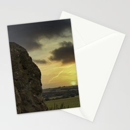 Sunset Standing Stones Stationery Cards
