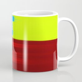 Abstract Painting No 344 By Chad Paschke Coffee Mug