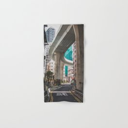 Hong Kong Street Bridge Hand & Bath Towel
