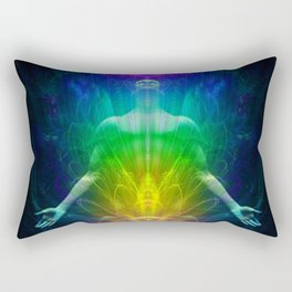 Awakening body Rectangular Pillow