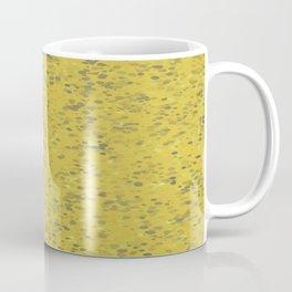 Dots Ochre Coffee Mug
