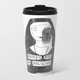 Movies Are My Religion Metal Travel Mug