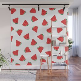 Juicy Summer Watermelon (Good Vibes) Wall Mural