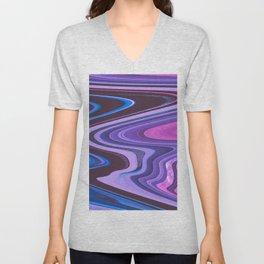Candy Swirl Unisex V-Neck