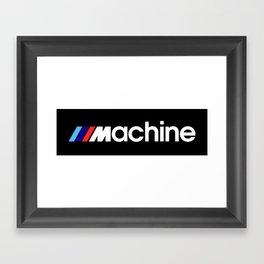 BMW Machine Framed Art Print