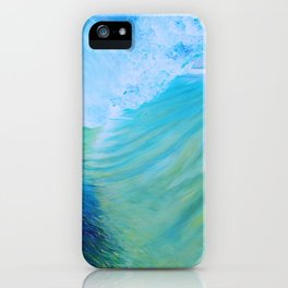 Endless Barrel, Big Wave Series iPhone Case
