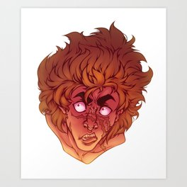Cain Headshot Art Print