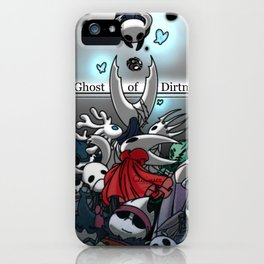 The ghost of dirtmouth - hollow knight iPhone Case