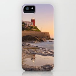 Peaceful atmosphere after sunset iPhone Case