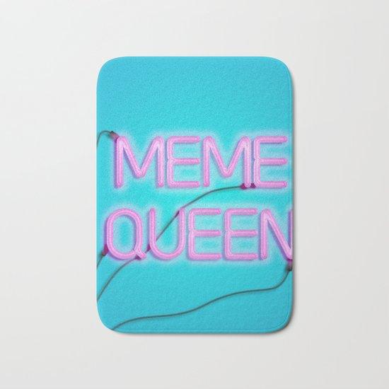 Meme queen Bath Mat