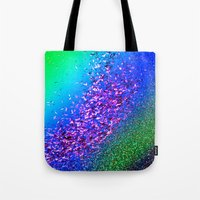 rave Tote Bags featuring Rave by Intrinsic Journeys