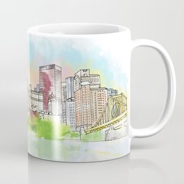 Pittsburgh Downtown Coffee Mug