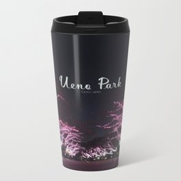 Night view in Ueno Park Metal Travel Mug
