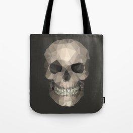 Polygons skull Tote Bag