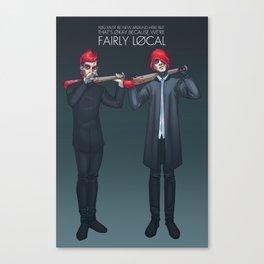 Fairly Local Canvas Print