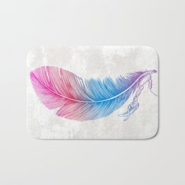 Colors of a Feather Bath Mat