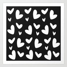 Pure heart Art Print