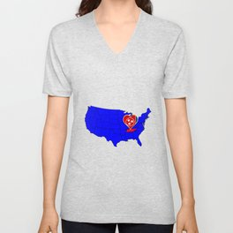 State of Tennessee Unisex V-Neck