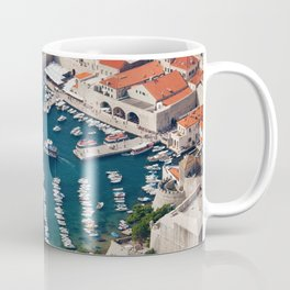 Port at Old Town of Dubrovnik Coffee Mug