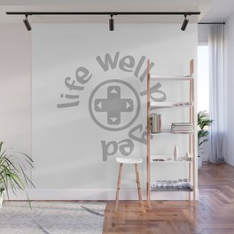 Gamer Life Well Played V3 Wall Mural