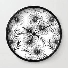 Diasy Dukes Wall Clock