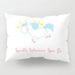 Sparkling Unicorn Pillow Sham
