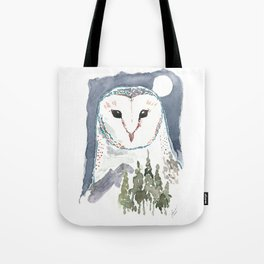 She Watches Over the Night Tote Bag