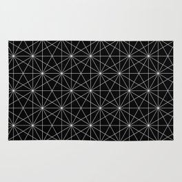 Intersected lines Rug