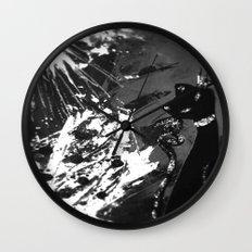Black Cat Storm Wall Clock