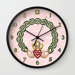 Claddagh Wall Clock