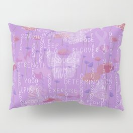 Living with Lupus Pillow Sham