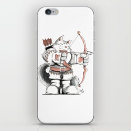 Archer Mainecoon Cat iPhone Skin