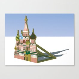 Russia Is A Marginal Power Canvas Print