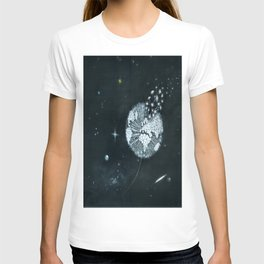 Blowing in Space T-shirt