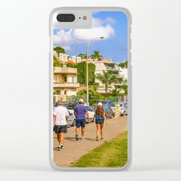 Punta Gorda Neighborhood, Montevideo, Uruguay Clear iPhone Case