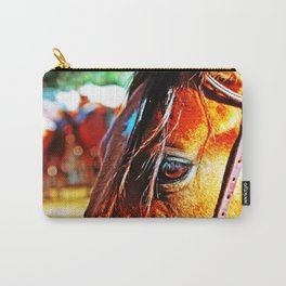 Horse-1-Color Carry-All Pouch