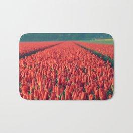 Tulips field #8 Bath Mat
