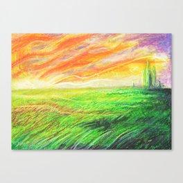 Radioactive Oz Canvas Print